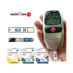 Multicare in Misuratore Glucosio, Colesterolo, trigliceridi