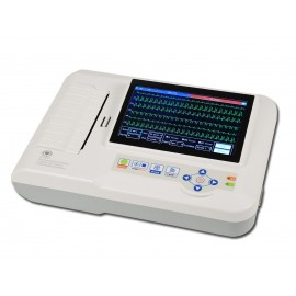 Elettrocardiografo 6 canali con display touch screen CONTEC 600G