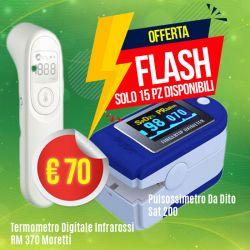Termometro a distanza Moretti + Saturimetro SAT 200